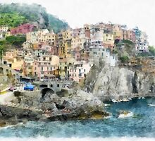 Vernazza by Edward Fielding