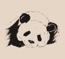 Slumbering Panda by bendrawslife