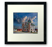 Old Police Station and Jail ~ Hannibal Missouri Framed Print