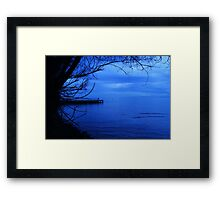 Moody Blues... Framed Print