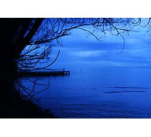 Moody Blues... Photographic Print