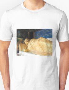 Golden Buddha  Unisex T-Shirt