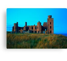 New Slains Castle (Cruden Bay, Aberdeenshire, Scotland) Canvas Print