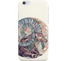 Nubian Ibex iPhone Case/Skin