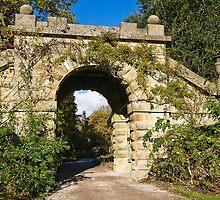 Bridge at Chatsworth estate Gardens by Elaine123