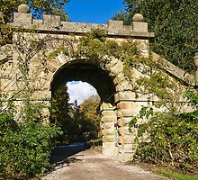 Bridge at Chatsworth estate Gardens by Elaine123