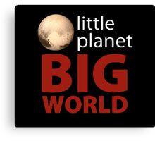 Little Planet - Big World Canvas Print