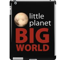 Little Planet - Big World iPad Case/Skin