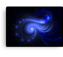 """Resonant Spiral"" - Fractal Art Canvas Print"