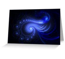 """Resonant Spiral"" - Fractal Art Greeting Card"