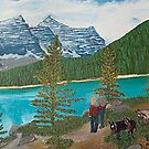 Lake Louise by Lilykoli