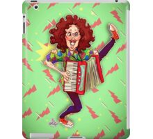 Alfred (Weird Al) Yankovic and Harvey the Wonder Hamster iPad Case/Skin