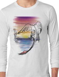 Toothless Sunset Long Sleeve T-Shirt