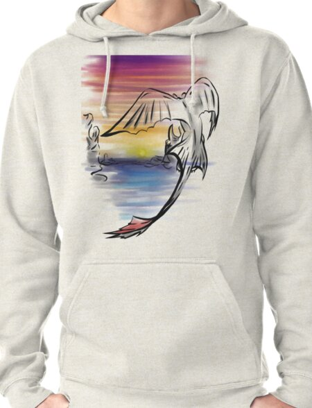 Toothless Sunset Pullover Hoodie