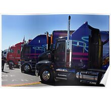 Big Rigs of Supercars Poster