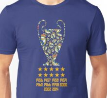 Real Madrid - Champions League Winners Unisex T-Shirt