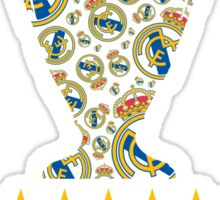 Real Madrid - Champions League Winners Sticker
