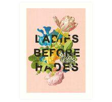 Ladies Before Hades Art Print