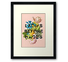 Ladies Before Hades Framed Print