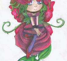 Rose Seedling - Sitting looking pretty by AuraPandoraStar