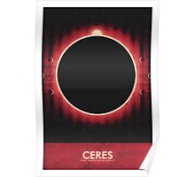 The Asteroid Belt - Ceres Poster