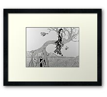 St. Rita and the Fig Tree I Framed Print