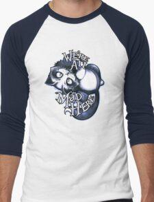 Cheshie - Mad Tea Party Men's Baseball ¾ T-Shirt