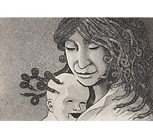 Medusa and child Photographic Print