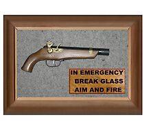 Emergency Flintlock Pistol by Radwulf