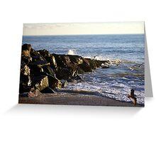 Rottingdean Rocks Greeting Card