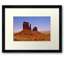 Monument Valley #2 (The Mittens) Framed Print