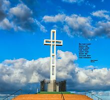 CLOUDS & CROSS by joseph s  giacalone