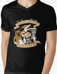 Be A Snack Leader Not a Pack Leader Mens V-Neck T-Shirt