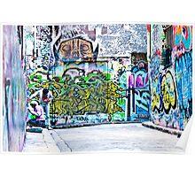 Melbourne graffiti artists Poster