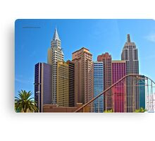 New York-New York Hotel & Casino Canvas Print