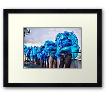 blown away by the beauty of it...(Maid Of The Mist, Niagara Falls, Ontario, Canada) Framed Print