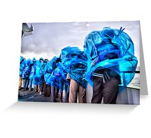 blown away by the beauty of it...(Maid Of The Mist, Niagara Falls, Ontario, Canada) Greeting Card