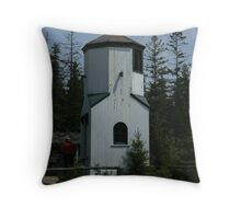 Rear Range Light - Bailey's Harbor Throw Pillow