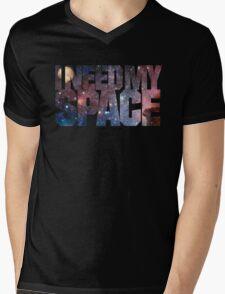 I Need My Space Mens V-Neck T-Shirt
