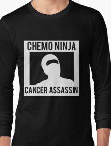 Chemo Ninja Cancer Assassin Long Sleeve T-Shirt