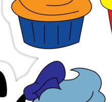 Fab Cupcakes Sticker