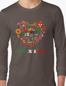 LOVE MEXICO Long Sleeve T-Shirt