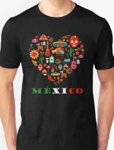 LOVE MEXICO Unisex T-Shirt