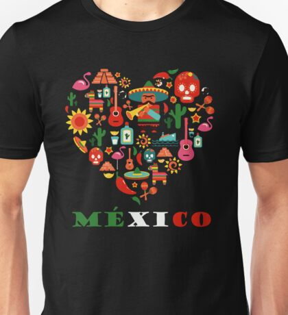 LOVE MEXICO Unisex T-Shirt