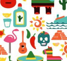 LOVE MEXICO Sticker