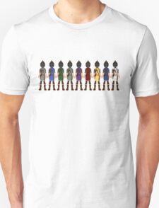 Skyrim 8-bit Hold Guards T-Shirt