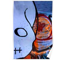 Grafetti Skull Poster