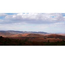 Wide open space of the Australian outback Photographic Print
