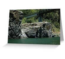 Summer Fun, Rogue River, Oregon Greeting Card
