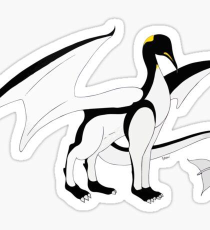 The Penguin-Dragon (Lastest evolution) Sticker